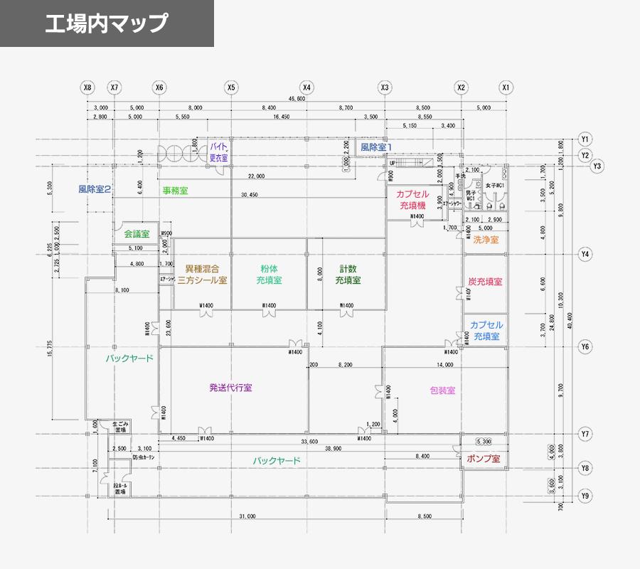 工場内マップ